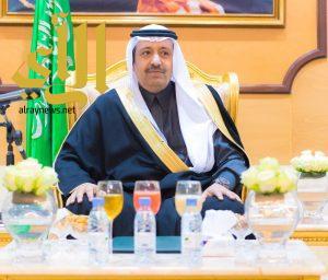 أمير الباحة يرعى حفل جائزة الباحة للابداع والتفوق ويكرم الفائزين والفائزات