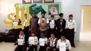 كشافة تعليم وادي الدواسر تُشارك في اليوم العالمي لمكافحة الفساد
