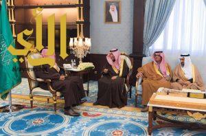 أمير الباحة يستقبل وزير العمل والتنمية الاجتماعية
