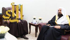 أمير الباحة يستقبل وكيل وزارة الشؤون الإسلامية والدعوة والإرشاد لشؤون المساجد