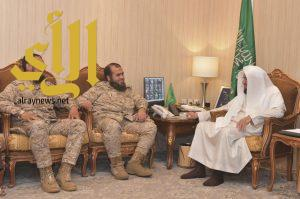 """""""بر أبها"""" توقع مذكرة تعاون مع الشؤون الدينية للقوات المسلحة بالمنطقة الجنوبية"""