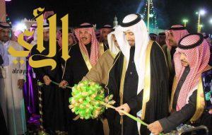 سعود بن نايف يدشن فعاليات مهرجان ربيع النعيرية الـ17