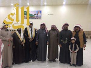 أسرة آل مساعد تحتفل بزواج عبدالله