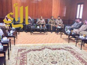 لجنة الدفاع المدني بالحرجة تجتمع لمناقشة خططهم المستقبلية