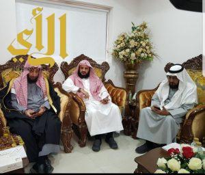 الشيخ سعد الشثري في زيارة لتعاوني المدينة