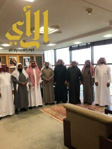 آمين المجالس البلدية يستقبل مجلس بلدي ظهران الجنوب