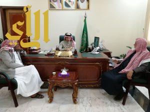 """مجلس """"الرمان التعاونية"""" يلتقي بمحافظ القرى وبعض مدراء الجهات الحكومية بالمحافظة"""