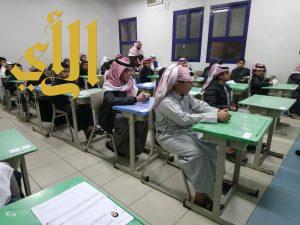 700 طالب في اختبار مقياس موهبة بعسير