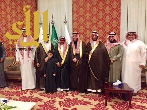 عبدالعزيز أبوعباة يحتفل بزواج ابنه محمد