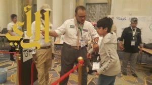 كشافة مكة المكرمة تُساهم في تنظيم الأولمبياد الوطني للروبوت