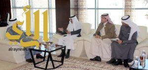 معالي مدير جامعة الباحة يلتقي رئيس وأعضاء لجنة حماية البيئة بالمنطقة