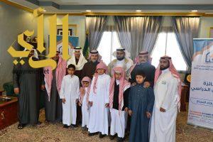 محافظ بني حسن بمنطقة الباحة يستقبل مسؤولي جمعية أكناف