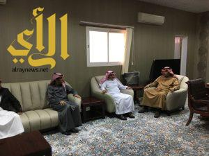 مناقشة فعاليات الملتقى العلمي الثاني بجامعة الأمير سطام بن عبدالعزيز بوادي الدواسر