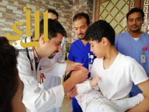 الصحة في مكة تُدشن الجرعة الثانية لشلل الأطفال لعام ١٤٣٩ هـ 