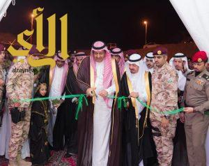 أمير الباحة يفتتح مهرجان الموز والكادي بالمخواة
