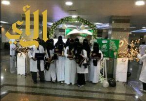 """إفتتاح المعرض التوعوي تحت شعار """"صحتنا بأيدينا"""""""