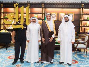 أمير الباحة يستقبل مدير وأعضاء فريق هايكنج السعودية