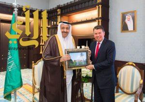 أمير الباحة يستقبل القنصل الأمريكي لدى المملكة