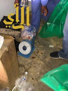 بلدية محايل تصادر أكثر من 88 كيلو من اللحوم مجهولة المصدر