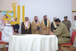 اللويحق يدشن حسابات شباب بني حسن ويشهد توقيع الشراكات