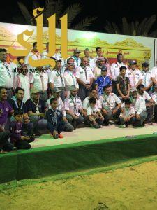 50 قائدا كشفيا من المدينة في زيارة لمركز بن عاصي للفروسية بتبوك