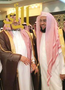 """نائب أمير منطقة الرياض يكرم """" بن فحاس """""""