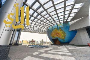 """"""" مركز المؤتمرات في واس"""".. واجهة إعلامية شمال مدينة الرياض"""