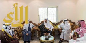 أمير منطقة الباحة يقدم تعازيه ومواساته لاسرة ال مقبول