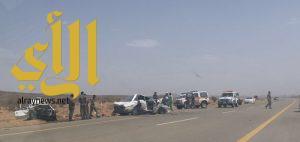 وفاة وأربع إصابات في حادث بمحافظة العقيق
