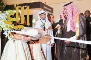 الأمير سلطان بن سعود يفتتح النسخة السابعة من صالون المجوهرات في الرياض