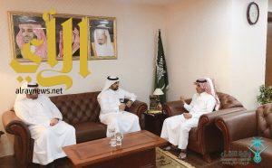 """المالكي يستقبل """"مدير مشاريع كهرباء الباحة"""" و """"رئيس لجنة حماية البيئة بمنطقة الباحة"""""""