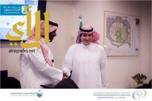 جامعة الملك سعود تدشن مشروع الشراكة البحثية مع المركز السعودى لسلامة المرضى
