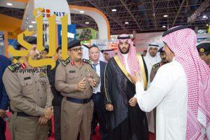 مدير الدفاع المدني بجدة يفتتح فعاليات المعرض التجاري للأمن والسلامة والوقاية من الحرائق