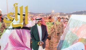 الأمير حسام بن سعود يتفقد مشروع تطوير منتزه رغدان بالباحة