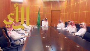 رئيس بلدية الصبيخة يعقد اجتماع بقسم صحة البيئة لمناقشة خطة البلدية لاستقبال شهر رمضان