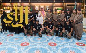 أمير منطقة الباحة يتسلم تقريراً مفصلاً عن أعمال فريق السلام السعودي