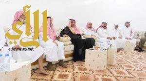 أمير الباحة يعزي النقيب عمر الغامدي في وفاة والده