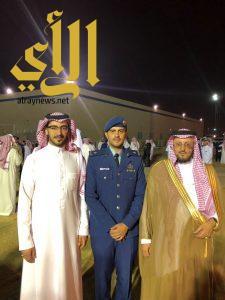 """القرفي يحتفل بتخرجه """"ملازما"""" من كلية الملك فيصل الجوية"""