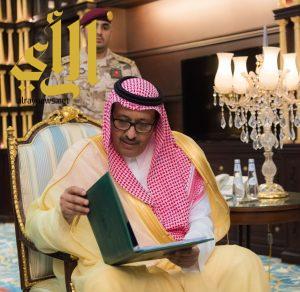 الأمير حسام بن سعود يطلع على خطط الجهات الأمنية لشهر رمضان وموسم الصيف لهذا العام