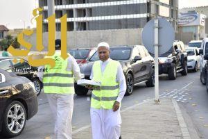 """""""أبوخالد"""" أكبر متطوع يشارك في حملة الصحة لتفطير الصائمين"""