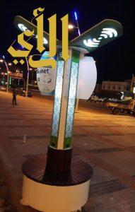 بلدية الحرجة تطلق خدمة ( wifi) في ممشى المحافظة