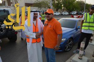 """الشيخ النعيمي يدعم متطوعي جدة في حملة """"رمضان أمان"""""""