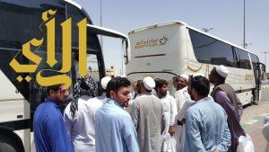 مكتب الدعوة بطريب يسير رحلة العمرة الثالثة لـ 150 معتمرا