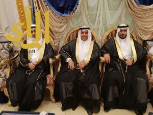 أسرة آل مقبل تحتفل بزواج ثلاثة من أبنائها