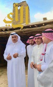 مدير عام سوق عكاظ يشارك اهالي الباحة في الفعاليات المصاحبة للسوق