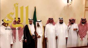 """أسرة آل راضي تحتفل بزواج ابنها """"عمر"""""""