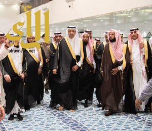 أمير الباحة يفتتح مجمّع الإمام محمد بن سعود الخيري بالمندق