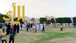 انطلاق فعاليات الحدائق العامة ضمن مهرجان خميس مشيط السياحي