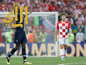 فرنسا تسحق كرواتيا برباعية وتتوج بلقب المونديال