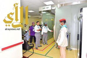المشرف على معسكرات الخدمة يطلع على جهود الوحدات الكشفية المساندة لمستشفيات المشاعر